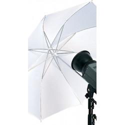 Бял дифузен чадър 105 см