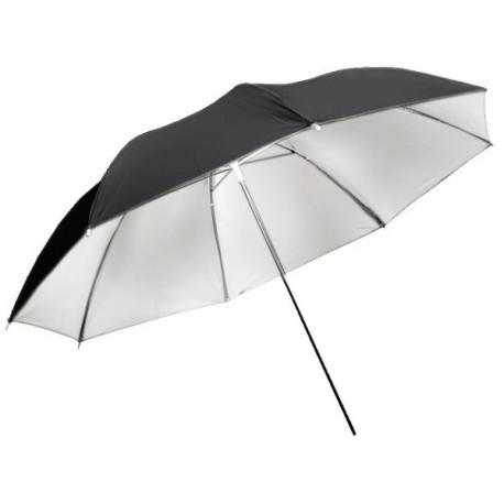 Dynaphos Бял отражателен чадър 150 см
