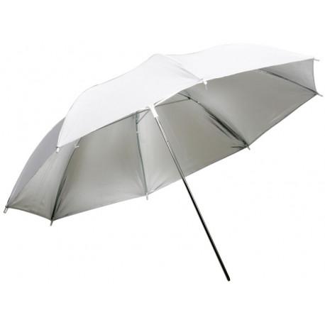 Dynaphos Сребрист отражателен чадър 105 см