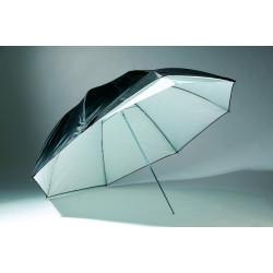 Чадър с двойно приложение - 109 cм дифузен/отразяващ