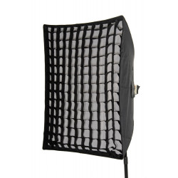Дълбок софтбокс с решетка 40х60 см
