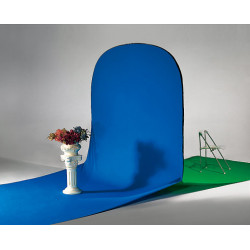 фон Dynaphos Сгъваем фон с две лица 160x210x480 см син/зелен