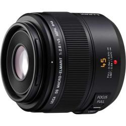 Lens Panasonic DG Macro-Elmarit Lumix 45mm f / 2.8 OIS