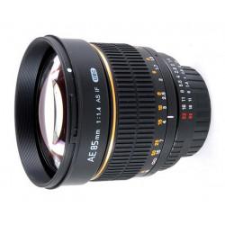 Lens Samyang 85mm f/1.4 - Nikon F