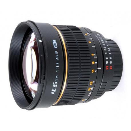 Samyang 85mm f/1.4 - Nikon F