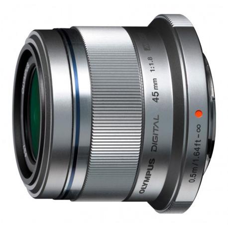 Olympus ZD Micro 45mm f / 1.8 MSC (silver)
