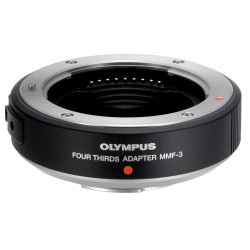 Olympus MMF-3 FT lens mount adapter to MFT mount camera
