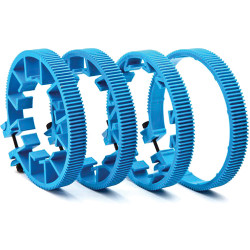 Redrock Micro microLensGears Kit - 4 Gears (8-003-0108 - Blue)