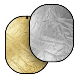 Reflector Dynaphos 029060 Отражателен диск 2 в 1 91х122 см сребристо/златно