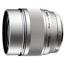 обектив Olympus ZD Micro 75mm f/1.8 ED MSC (сребрист)