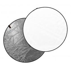 Accessory Dynaphos Отражателен диск 2 в 1 110 см сребристо/бяло