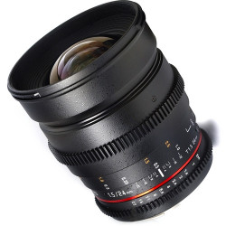 Lens Samyang 24mm T / 1.5 VDSLR - Nikon F