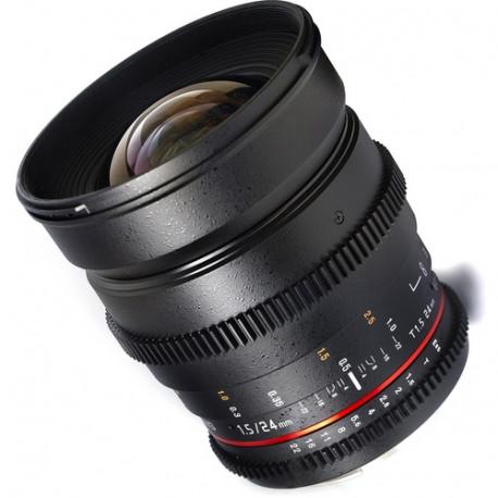 Samyang 24mm T/1.5 VDSLR - Nikon F