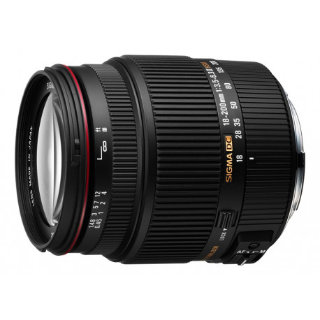 Sigma 18-200mm f / 3.5-6.3 II DC OS HSM for Canon