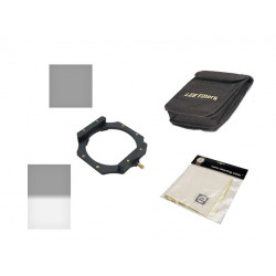 Lee Filters Digital SLR Starter Kit - set of two 100mm filters, holder, case and cloth