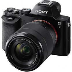 Sony A7 + обектив Sony FE 28-70mm f/3.5-5.6 + обектив Zeiss Batis 85mm f/1.8 за Sony E