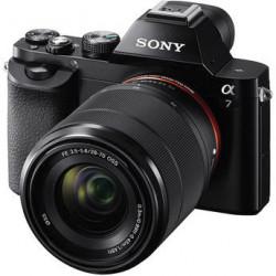 фотоапарат Sony A7 + обектив Sony FE 28-70mm f/3.5-5.6 + обектив Sony FE 50mm f/1.8