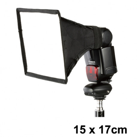 Dynaphos 020613 Мини софтбокс за ръчна светкавица 15x17см