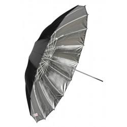 030449 Сребрист отражателен чадър 105 см Fibro