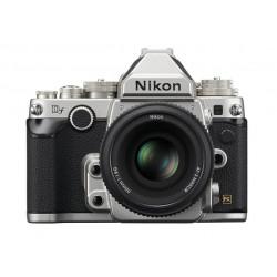 фотоапарат Nikon DF (сребрист) + обектив Nikon 50mm f/1.8G Retro