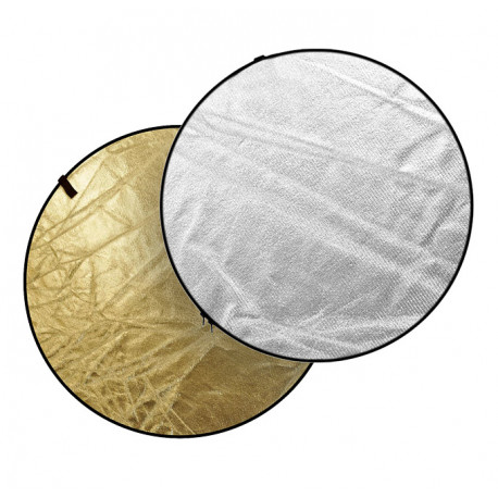 Dynaphos 029049 Reflective disc 2 in 1 81 cm silver / gold