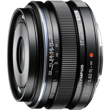 Olympus M.ZUIKO DIGITAL 17mm f / 1.8 MSC (Black)