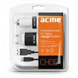 зарядно у-во Acme CH05 CHARGER KIT 4 IN 1