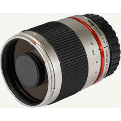 Samyang 300mm f/6.3 Reflex CS (сребрист) - mFT
