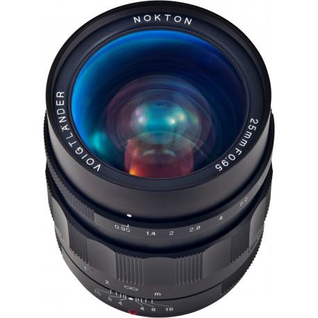 Voigtlander 25mm f/0.95 Nokton - mFT