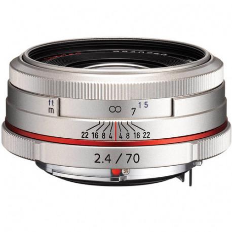 Pentax HD 70MM F / 2.4 DA LIMITED (Silver)