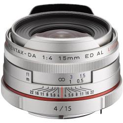 обектив Pentax HD 15MM F/4 DA ED AL LIMITED (сребрист)