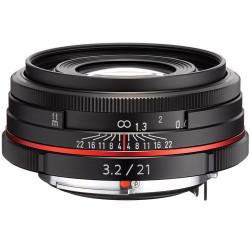 Pentax HD 21MM F / 3.2 DA AL LIMITED (Black)