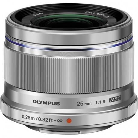 Olympus ZD MICRO 25MM F/1.8 MSC (сребрист)