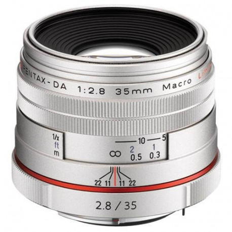 Pentax HD 35mm f / 2.8 DA Macro Limited (Silver)
