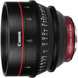 обектив Canon CN-E 24mm T/1,5 L F + обектив Canon CN-E 50MM T/1.3 L F + обектив Canon CN-E 135mm T/2.2 L F