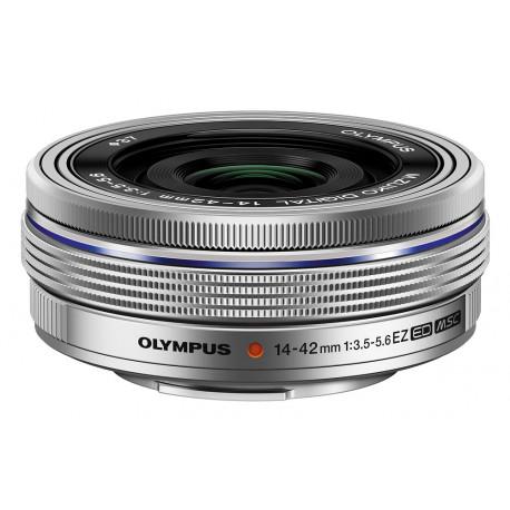 Olympus ZD Micro 14-42mm f/3.5-5.6 EZ ED MSC (сребрист)