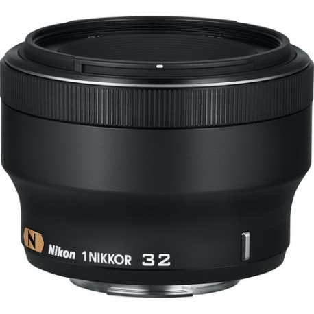 Nikon 1 NIKKOR 32mm f/1.2 (черен) (преоценен)