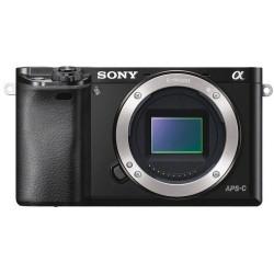 Camera Sony A6000 + Lens Sony SEL 16-50mm f/3.5-5.6 PZ OSS (черен)