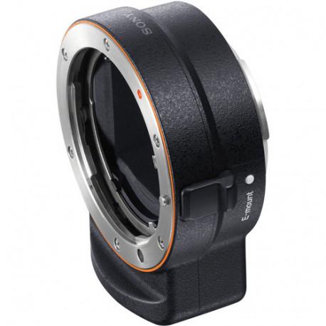Sony LA-EA3 lens adapter with Sony A bayonet to camera with Sony E (FE) bayonet