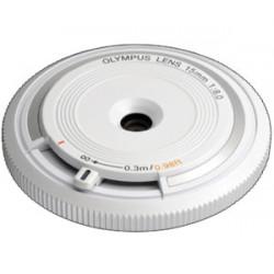 обектив Olympus ZD Micro 15mm f/8 Body Cap Lens (бял)
