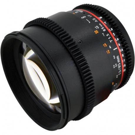 Samyang 85mm T/1.5 VDSLR - Nikon F