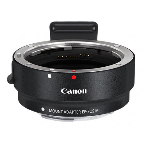 Canon lens adapter with Canon EF (-S) mount to camera with Canon M mount
