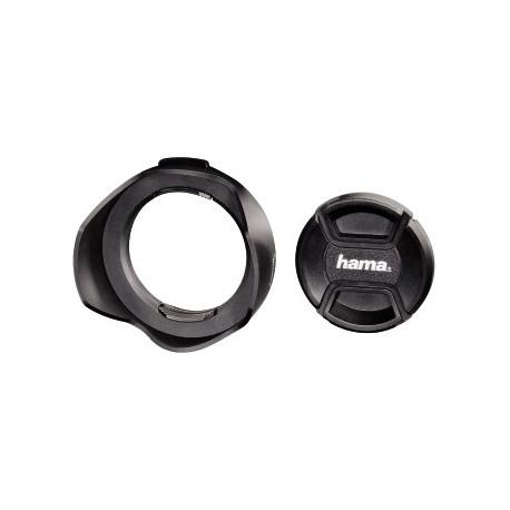 Hama 93672 Lens Hood with Lens Cap universal set 72 mm