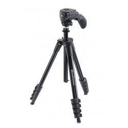 Tripod Manfrotto MKCOMPACTACN-BK Compact Action - Black