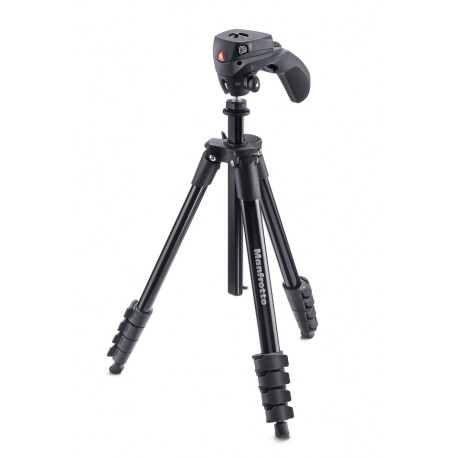 Manfrotto MKCOMPACTACN-BK Compact Action - Черен