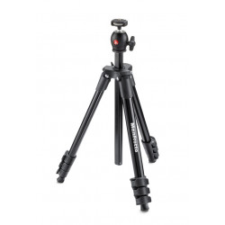 Tripod Manfrotto MKCOMPACTLT-BK Compact Light - Black