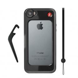 KLYP + протектор за iPhone ® 5/5S - Черен MCKLYP5S-B