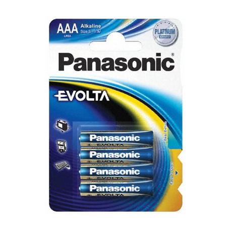Panasonic AAA X 4 бр. 1.5V EVOLTA