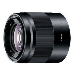 Lens Sony SEL 50mm f / 1.8 (black)