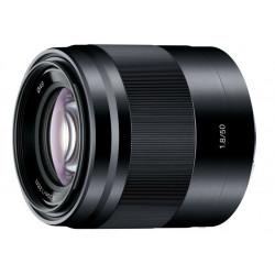 обектив Sony SEL 50mm f/1.8 (черен)
